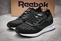 Кроссовки женские 12465, Reebok  Zoku Runner, черные ( 38  )