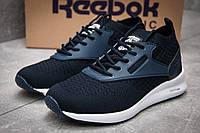 Кроссовки женские 12466, Reebok  Zoku Runner, темно-синие ( 38 40  )