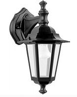 Садово-парковый светильник Кантри PL6102 черный, Е27 металл