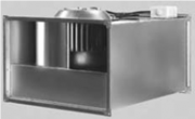 Вентилятор канальный  прямоугольный C-PKV-100-50-6-380