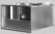 Вентилятор канальный Веза прямоугольный КАНАЛ-ПКВ-90-50-6-380