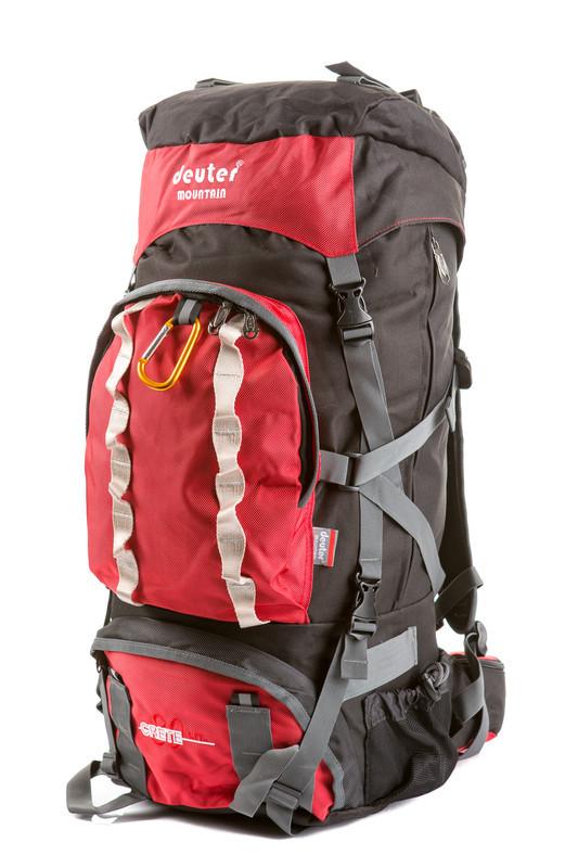 Туристический рюкзак в стиле Deuter Grete 9863 V-80 л.  красный