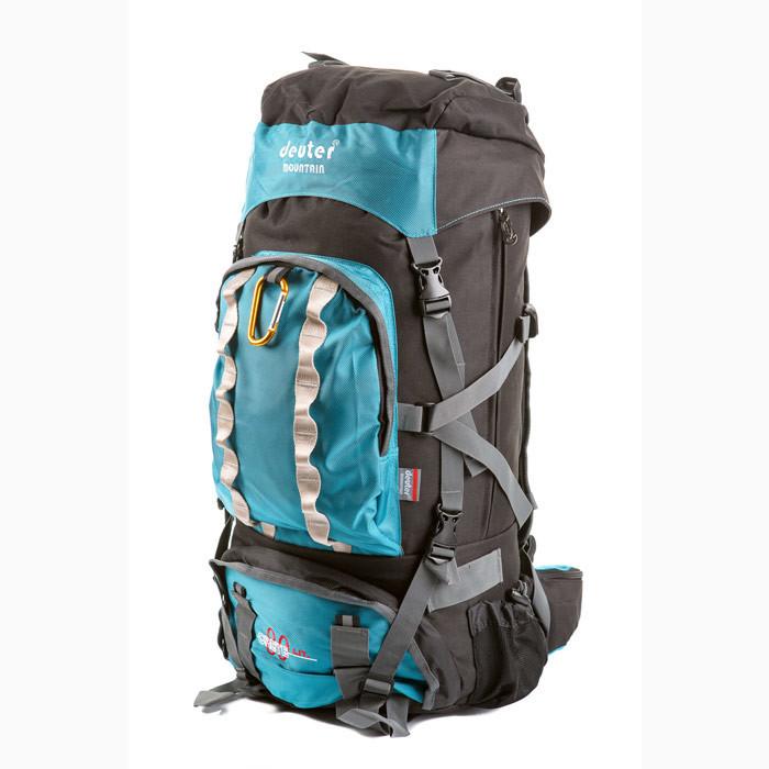 Туристический рюкзак в стиле Deuter Grete 9863 V-80 л. бирюзовый