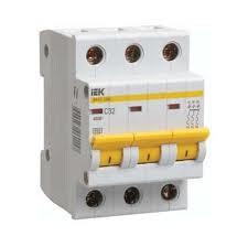 Автоматический выключатель ВА47-29М 3P 6A 4,5кА х-ка C ИЭК