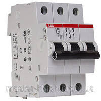 Автоматический выключатель ABB S203-C25, тип C, 25 А