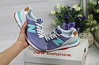 Женские кроссовки New Balance 999 фиолетовые (Реплика ААА+), фото 1