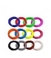 Комплект PLA пластик для 3D ручки (12 цветов)