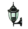 Уличный садово-парковый фонарь  Е27  PL5201 черный  металл