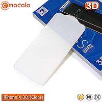 Защитное стекло Mocolo iPhone X (Clear) 3D