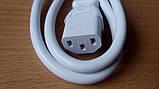 Сетевой шнур белый (электропитания) для мультиварки Redmond, фото 2