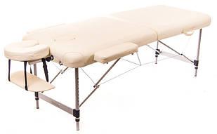 Масажний стіл алюмінієвий 2-х сегментний RelaxLine Sirius кушетка масажна для масажу
