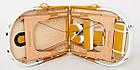 Большой массажный стол деревянный 2-х сегментный RelaxLine Sahara кушетка массажная для массажа, фото 4