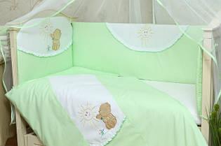 Аксессуары для детской кроватки: Защита, Бортики, Карман, Балдахин.