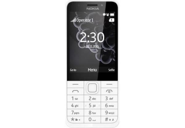 Nokia 230 Dual Sim White