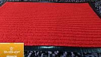 Придверный коврик прямоугольный красная полоса, фото 1