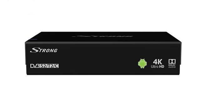 Гибридный HD приемник STRONG SRT 2400 IPTV COMBO HD DVB-S2/T2/C S905-B 1GB/8GB Android 5.1