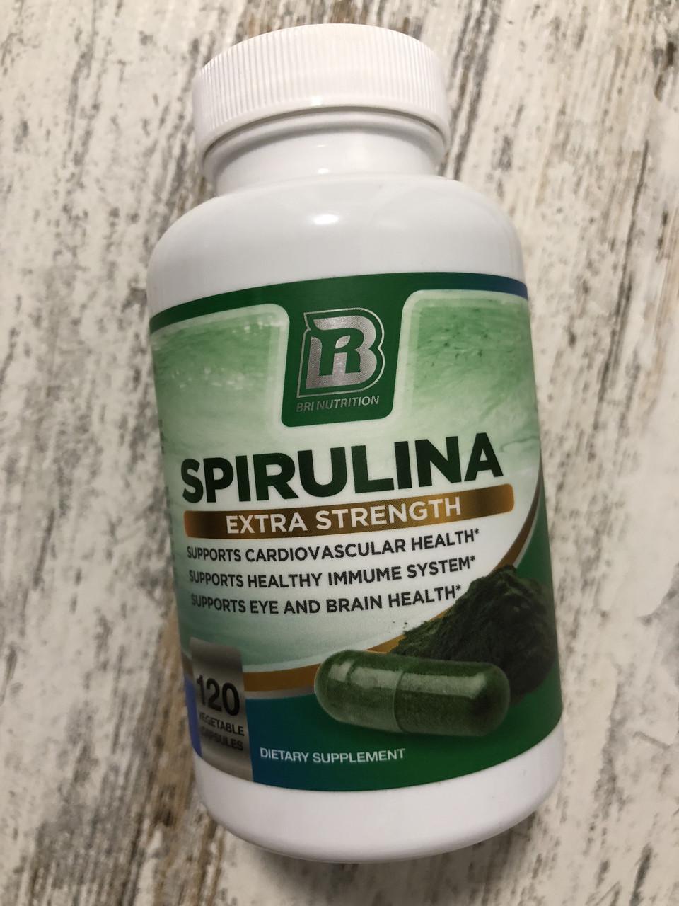 Спирулина уникальная водоросль 2000мг Spirulina extra strength