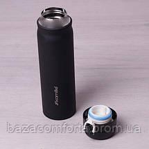 Термос-бутылка 2005В из нержавеющей стали Kamille 500мл, фото 3