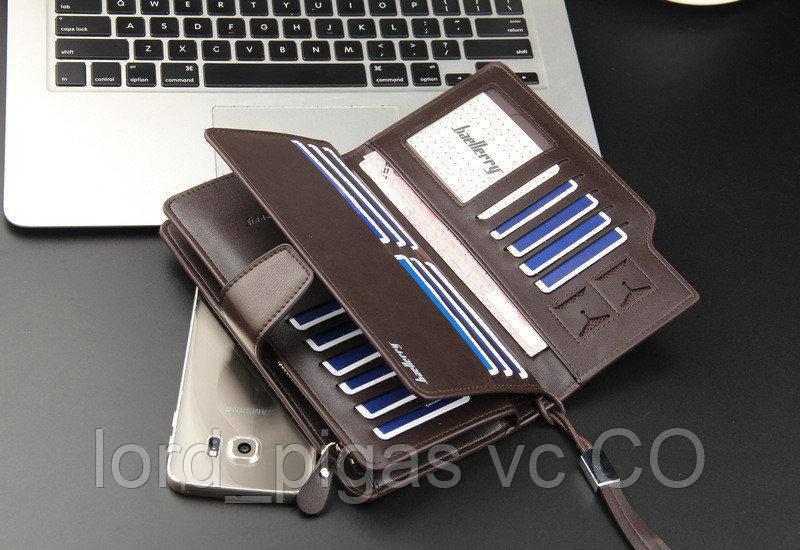 d44e58b04307 ... Мужской кошелек клатч портмоне Baellerry business S1063 , фото 3 ...
