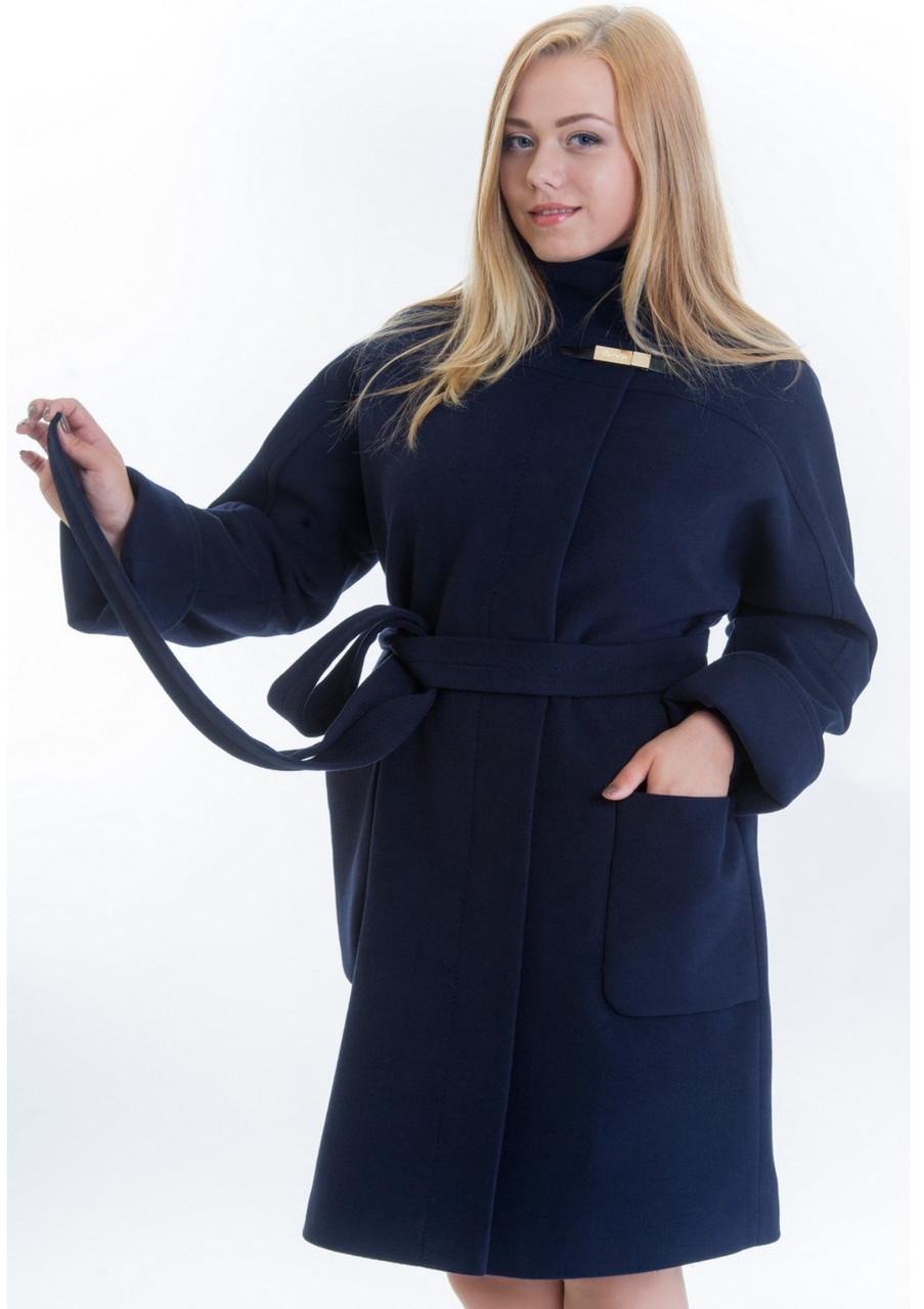 Пальто демисезонное на пуговицах, фото 1