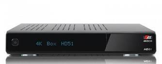 Спутниковый HDTV OPTICUM AX 4K UHD BOX HD51