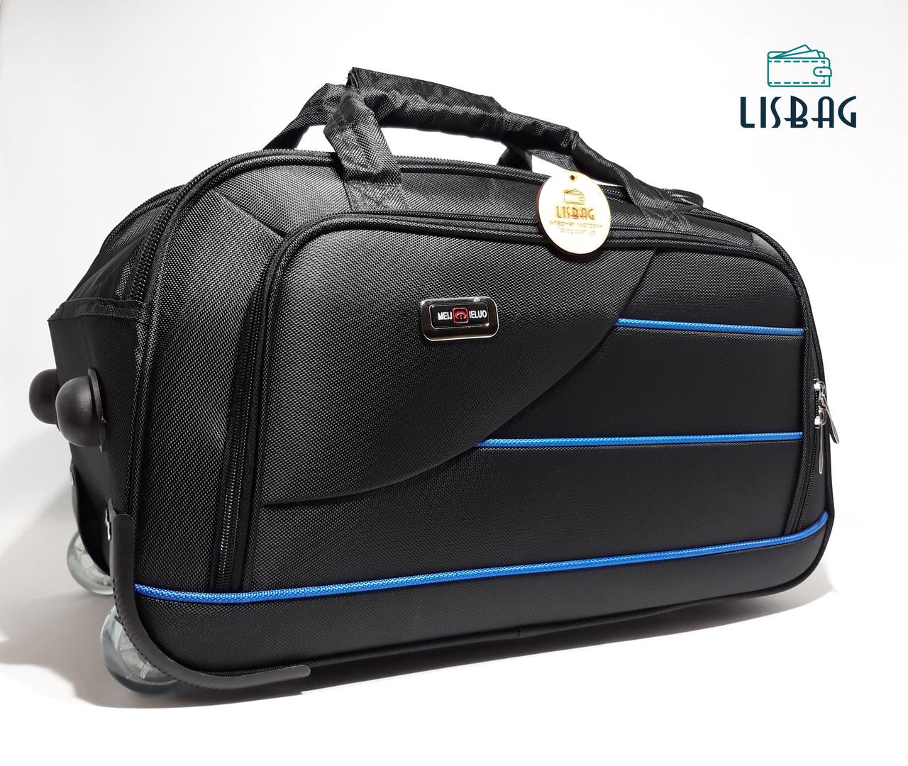 815303e4b639 Большая сумка на колесах XL (77 л) Черного цвета (65*33*37) Чемодан ...