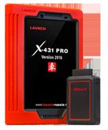 Мультимарочный Автосканер LAUNCH X-431 PRO