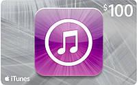 Карта Apple iTunes Gift Card 100$