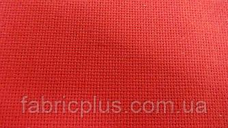 Ткань для вышивания  красная