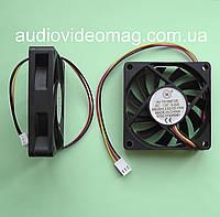 Вентилятор (кулер) 12V 0.23A, 70х70х15 мм, компьютерный