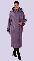 Женское зимние пальто- пуховик. Модель 12-А. Размеры 62-64