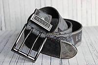 Стильный мужской ремень в джинсы двухшпеньковый