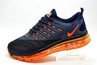 Кроссовки для бега в стиле Nike Air Max 2018 Mens, Dark Blue\Orange
