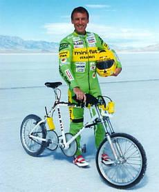 Фред Ромпельберг поставил мировой рекорд скорости на велосипеде