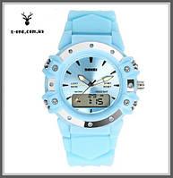 Женские спортивные часы Skmei 0821(Blue).