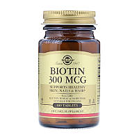 Biotin 300 mcg Solgar 100 tabs