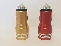 Автомобильное зарядное устройство на 2 USB, JBS-C001