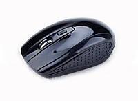 Wireless Мышь оптическая (2,4 ГГц), USB  Черный