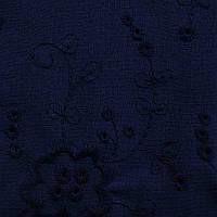 Ткань лен с вышивкой перфорированный 6153A C5