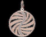Подвеска - кулон серебряная Амулет 60159, фото 2