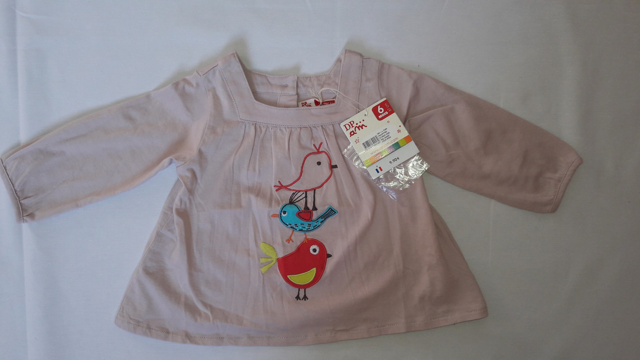 Платье детское DPam птицы
