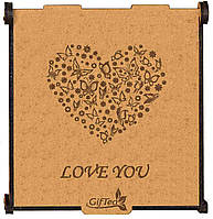 Подарок для любимой девушке, женщине, жене.  Подарочный набор чая Love You