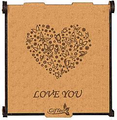 """Подарок для любимой девушке, женщине, жене.  Подарочный набор чая """"Love You"""""""