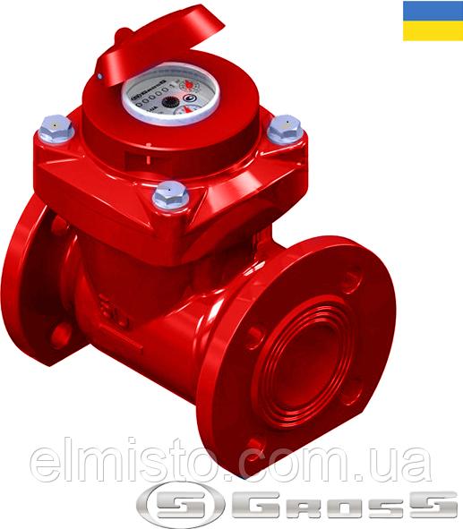 Счетчик Gross WPW-UA 65/200 Ду 65 горячей воды турбинный