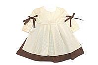 Платье детская  «Крестьянка горох». Нарядное , фото 1