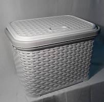 Корзина для хранения Irak Plastik SP-300-2 белый