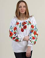 Блуза вышитая Соловьиная песня бохо
