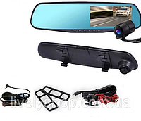 Зеркало видеорегистратор с камерой заднего вида Vehicle Blackbox DVR Full HD 4.3 дюймов Оригинал