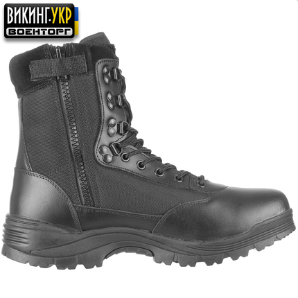 MIL-TEC БЕРЦЫ TACTICAL SIDE ZIP BOOTS BLACK, фото 2