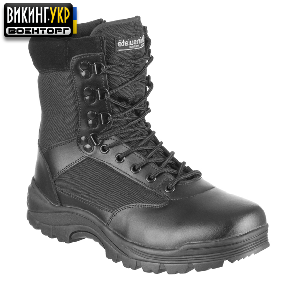 MIL-TEC БЕРЦЫ TACTICAL SIDE ZIP BOOTS BLACK